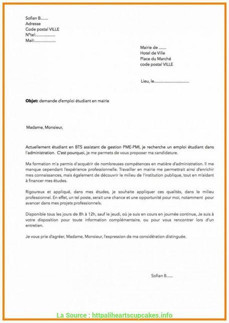 lettre de motivation bts assistant de gestion pme pmi