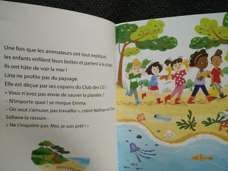 Le Club des CE1 – Lina dit non à la pollution ! Nancy GUILBERT et Susana GURREA – 2019 (Dès 7 ans)