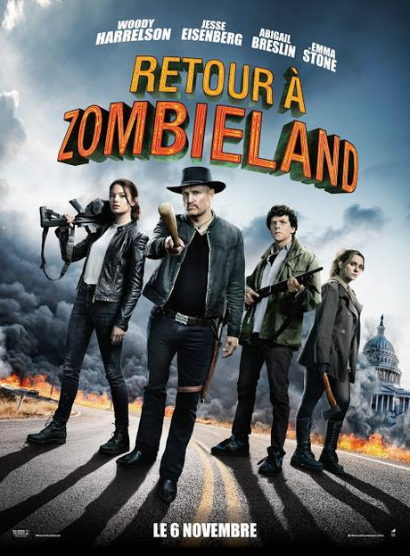 Nouveau trailer international pour Retour à Zombieland de Ruben Fleischer