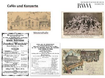 Il y a 150 ans, les Voyageurs de l'Or du Rhin séjournaient à Munich (3). Le soir, ils allaient au concert.
