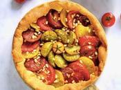 Tarte briochée tomates tapenade