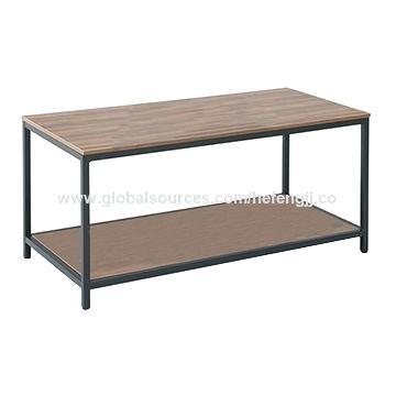 steel frame coffee table china wood top metal frame coffee table for living
