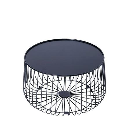 steel frame coffee table round metal frame coffee table and