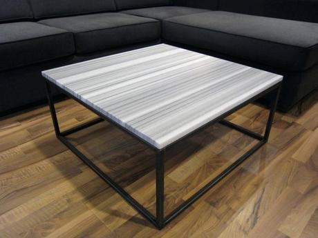 steel frame coffee table custom metal frame coffee table