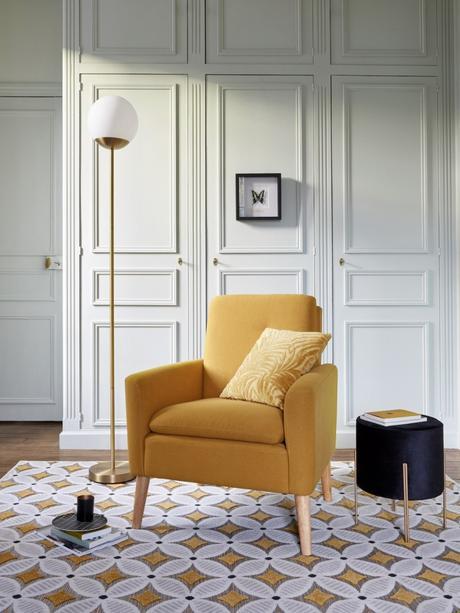 décoration art déco pas cher design salon lampadaire blog