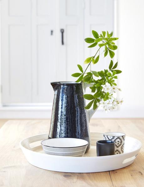 carafe noir blanche vintage retro vaiselle japonaise - blog deco - clem around the corner