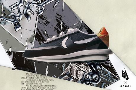 Le second drop Nike x Sacai LDWaffle va être une nouvelle fois reporté