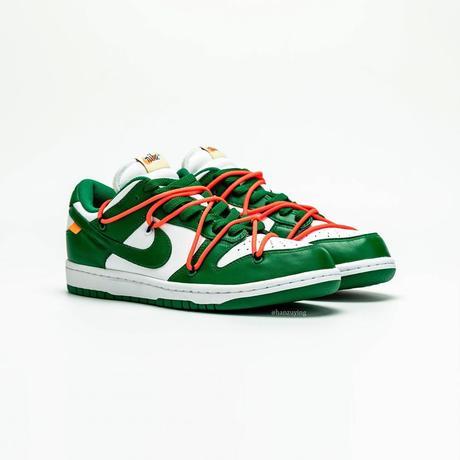 La Nike Dunk Low x Off White Pine Green continue de se dévoiler