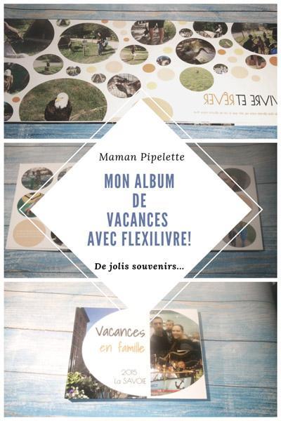 Mon album de vacances avec Flexilivre!