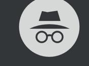 Google Chrome fait, navigation mode Incognito n'est vraiment privée