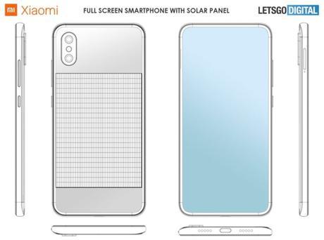 Xiaomi imagine un smartphone qui peut se recharger à l'énergie solaire.