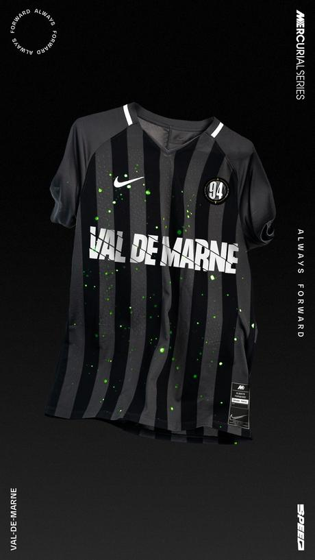 Nike dévoile les maillots pour la Coupe Nike Mercurial du Grand Paris
