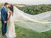 Romantic outdoor wedding Mariage Domaine Combe Ramond