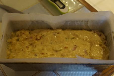 Cake courgettes et lardons
