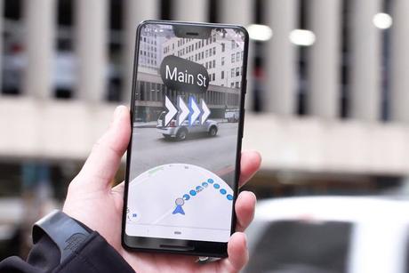 Google Maps : la réalité augmentée désormais disponible sur tous les smartphones