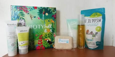 Biotyfull Box aout 2019