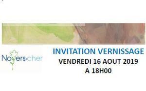 Noyers-sur-cher  exposition Laufrent BETREMIEUX à La chapelle Saint-Lazare 16/22 Août 2019