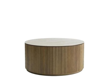 palais coffee table contemporary style round wooden coffee table for living room grand by design