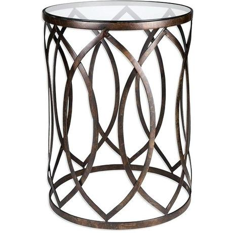 palais coffee table shop furnishings metal barrel end accent design free shipping today overstock
