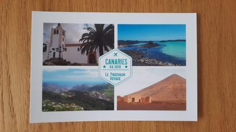 Carnet de voyage aux Canaries