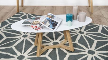 table basse scandinave blanc et jaune d couvrir. Black Bedroom Furniture Sets. Home Design Ideas