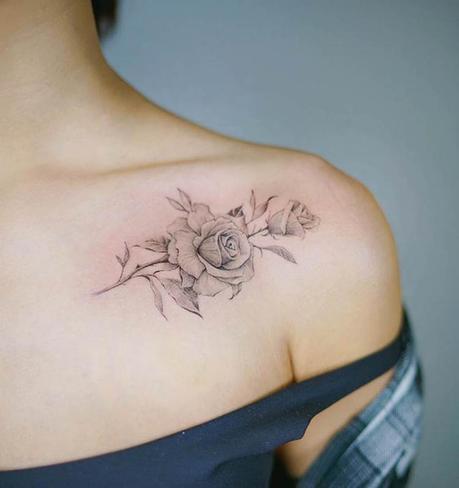 Signification De Tatouage Femme Rose Styles Et Tendances Paperblog