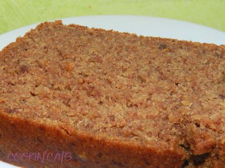 CAKE AU BEURRE DE CACAHUETE (sans gluten, végétalien)