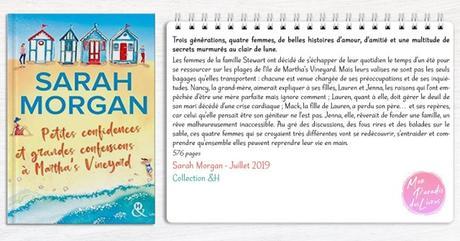 Petites confidences et grandes confessions à Martha's Vineyard – Sarah Morgan