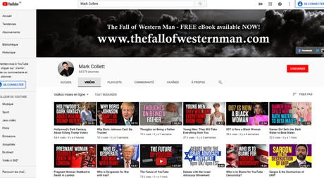 #YouTube, grand receleur de haine en ligne, abrite toujours le nazi @MarkACollett