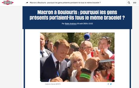 Où le roi Macron erre nu dans ses villages Potemkine #Boulouris