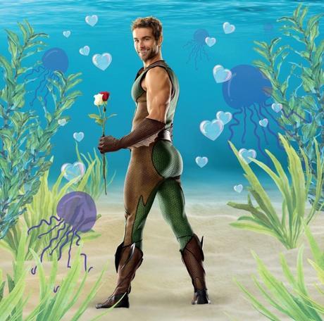SEXY : l'étrange calendrier de The Deep (l'Homme-Poisson) de la série «The Boys»