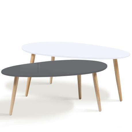 table basse scandinave blanc et jaune voir. Black Bedroom Furniture Sets. Home Design Ideas