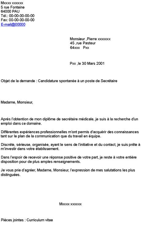 Lettre De Motivation Secretaire Administrative Paperblog