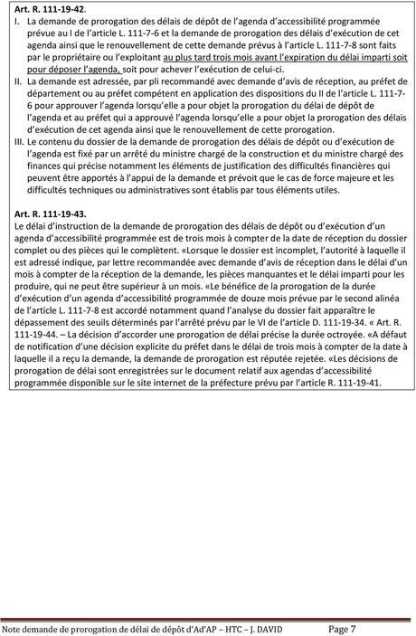 DEMANDES DE PROROGATION DE DELAIS DE DEPÔT D AD AP - PDF