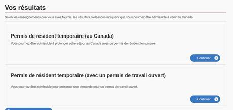 Canada prolongation JP ou demande de permis de travail ouvert
