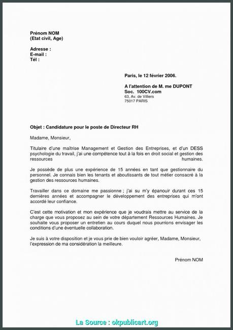 Lettre De Motivation Bafa à Lire