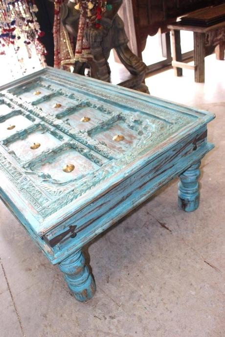 blue distressed coffee table distressed turquoise coffee table distressed turquoise blue side table distressed wood coffee table distressed