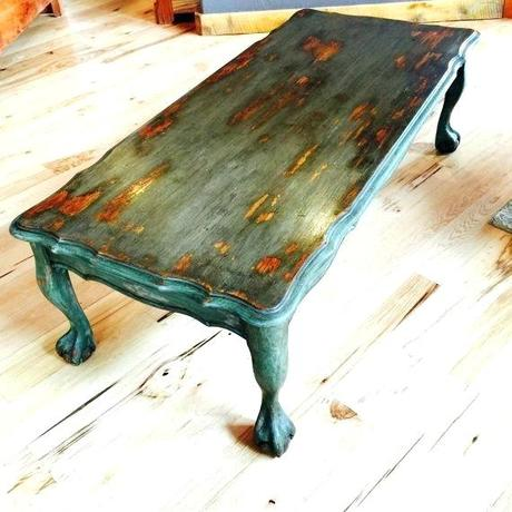 blue distressed coffee table distressed side table medium size of tables full coffee grey