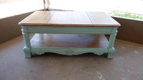 blue distressed coffee table distressed coffee table ideas for kids duck egg blue top black with drawers