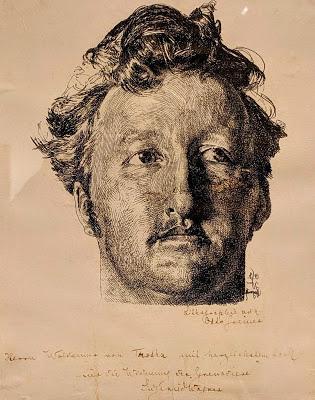 Deux portraits de Siegfried Wagner par Otto Greiner