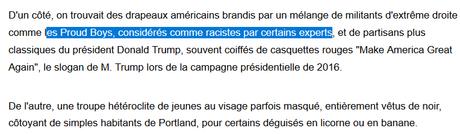 Journaliste AFP, c'est un métier ? #Portland #NONazis
