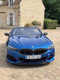Essai BMW 850i Cabriolet par Didier Testot dans BV Auto