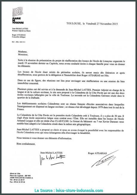 De Valeur Lettre De Motivation Enseignant Ecole Primaire Lettre De ...