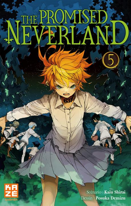 The Promised Neverland T5, de Kaiu Shirai et Posuka Demizu
