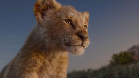 On a été voir le Roi lion au cinéma