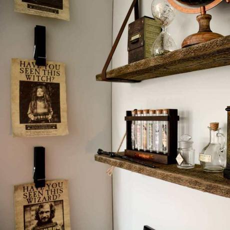 chambre enfant harry potter affiche prisonnier déco original