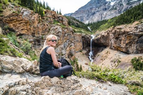 crypt lake trail randonnee