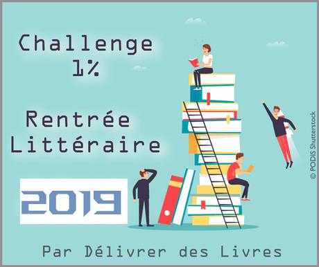 challenge rentrée littéraire 2019