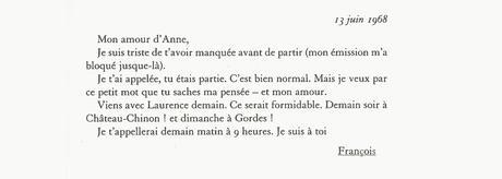 Lettres de Mitterrand : l'amour à l'épreuve de la politique