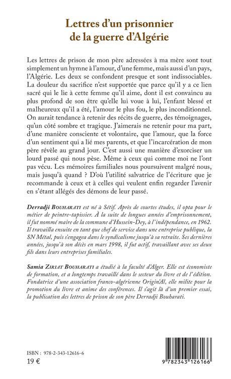 LETTRES D'UN PRISONNIER DE LA GUERRE D'ALGÉRIE - Les giboulées de ...